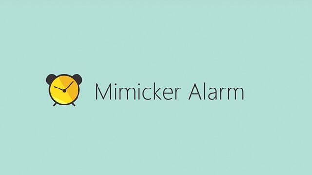 mimicker alarm microsoft