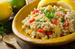 Insalata di quinoa, tante proteine e zero glutine